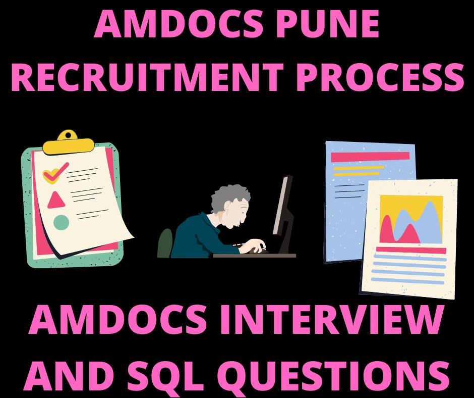 New Amdocs Recruitment process , Amdocs Interview Questions