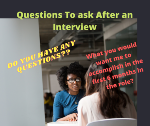 good questions to ask after interview