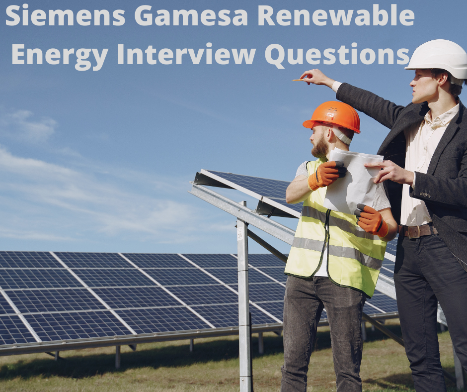 SIEMENS GAMESA INTERVIEW