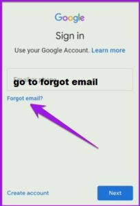 how to get email id